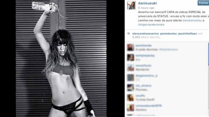 Daniele Suzuki dá dicas de beleza