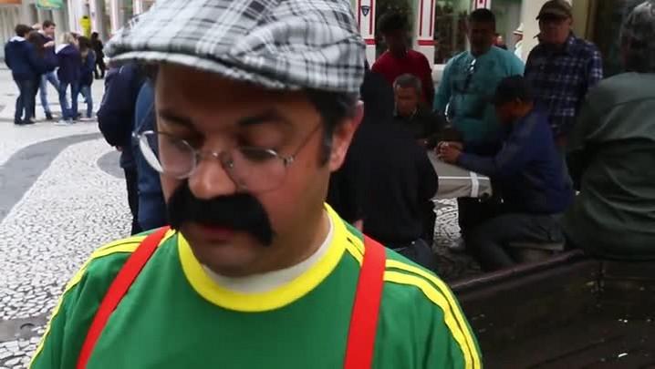 Joaquim vai invadir as ruas de Florianópolis na Copa do Mundo