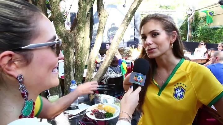 #LaCopa: bonitos e famosos, mas entendem de futebol?