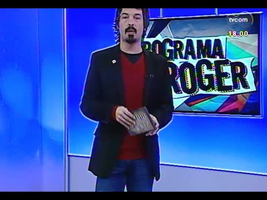 """Programa do Roger - Ravel Andrade e Julio Andrade, protagonistas do filme \""""Não pare na pista\"""" - Bloco 2 - 14/08/2014"""