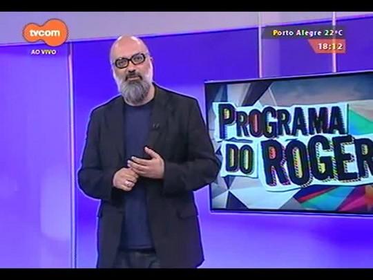 Programa do Roger - Brechó do Roger + Banda Topáz - Bloco 3 - 06/10/2014