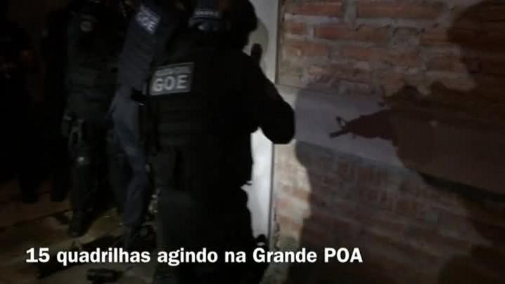 Operação contra roubo de veículos no RS já soma mais de 50 presos