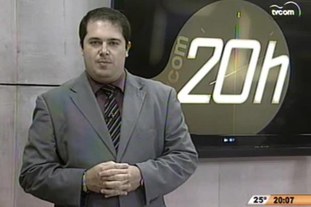 TVCOM 20h - Polêmica posse Tiago Silva prefeito interino - 7.11.14
