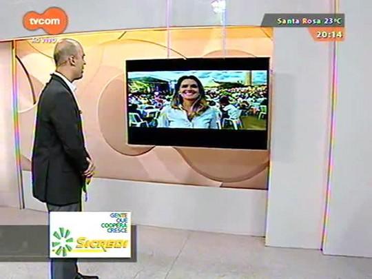 TVCOM 20 Horas - Os preparativos para o Réveillon do Gasômetro e em Florianópolis - 31/12/2014