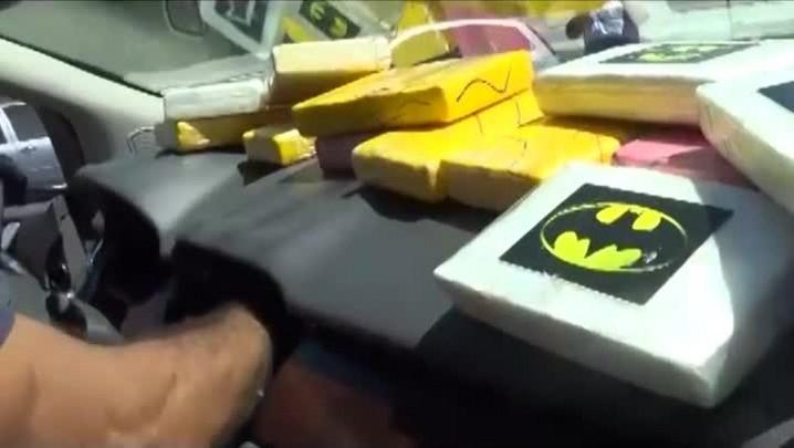 Polícia Federal apreende cocaína colombiana pura em Santa Catarina