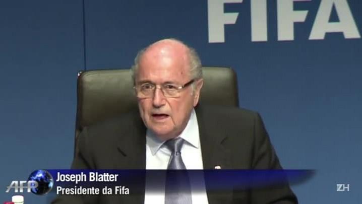 Os efeitos da renúncia de Blatter para o futebol mundial