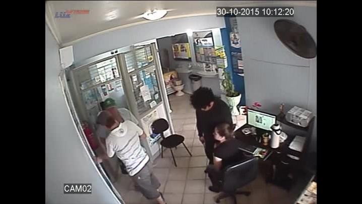 Dois homens assaltam lotérica em Dona Francisca