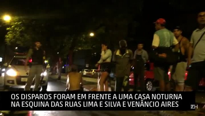 Tiroteio em cruzamento da Cidade Baixa deixa feridos