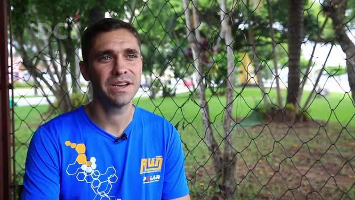 Maratonista conta sua experiência no esporte