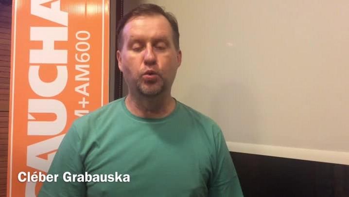 Cléber Grabauska fala sobre oportunidade de afirmação do Grêmio