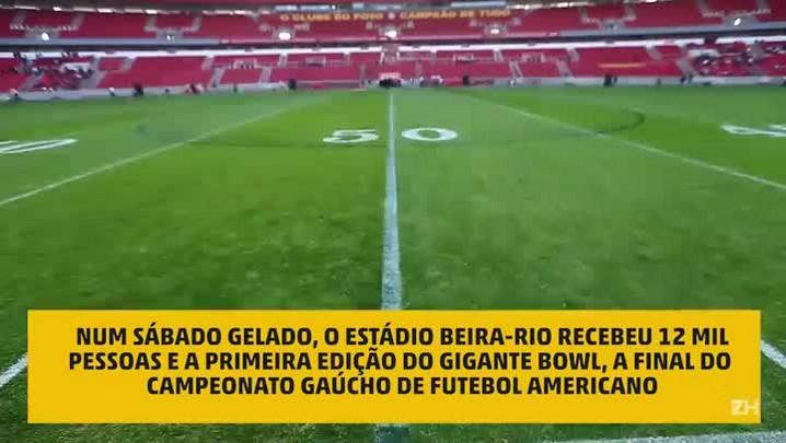 Veja como foi o Gigante Bowl, no Beira-Rio