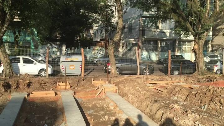 Obras revelam estruturas da Casa de Correção de Porto Alegre