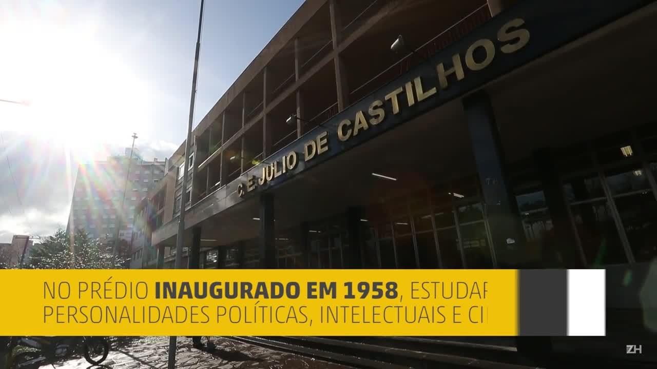 Colégio Estadual Júlio de Castilhos será tombado