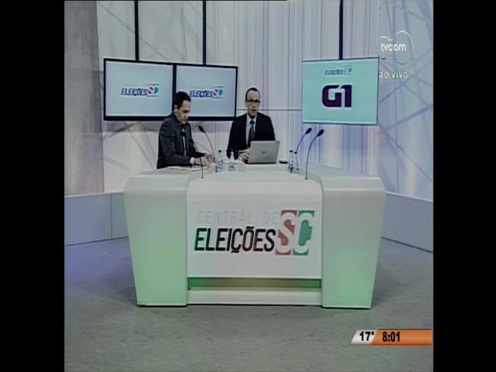 Confira momentos da cobertura das eleições 2016 em Santa Catarina