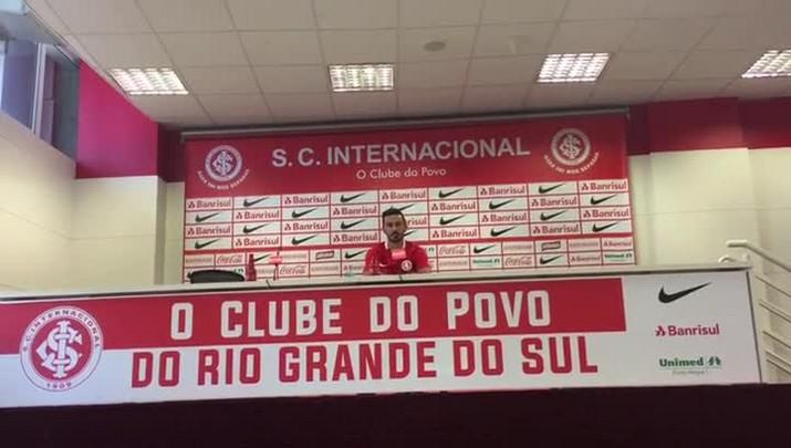 Chegada de Uendel ao Inter