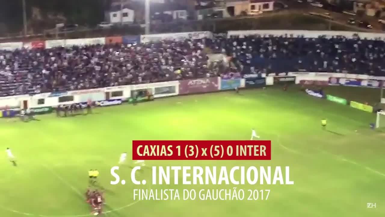 Inter e Novo Hamburgo comemoram classificação à final do Gauchão 2017