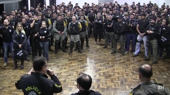 Operação na Vila dos Papeleiros combate ao tráfico e roubos no Centro