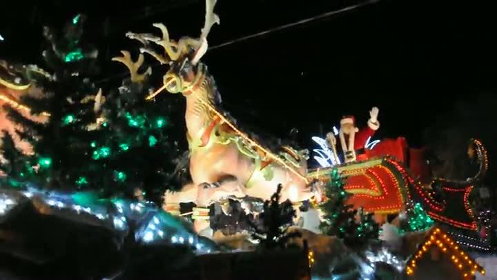 Natal Luz: Papai Noel no Grande Desfile de Natal