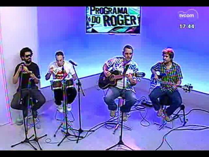Programa do Roger - Confira a volta da banda Ultramen - bloco 1 - 05/03/2013