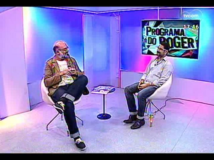 Programa do Roger - Diretor Mário de Ballenti fala sobre peça para crianças pequenas - bloco 1 - 19/03/2013