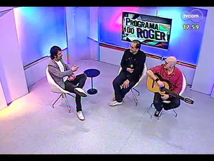Programa do Roger - Biquíni Cavadão bate um papo com Lúcio Brancato - bloco 2 - 25/04/2013