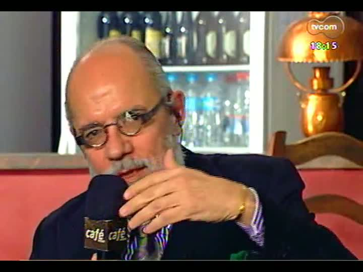 Café TVCOM - Eduardo Coutinho, o Jango de Juremir e a Operação Condor discutidos no \'Bar da Mata\' - Bloco 2 - 13/07/2013
