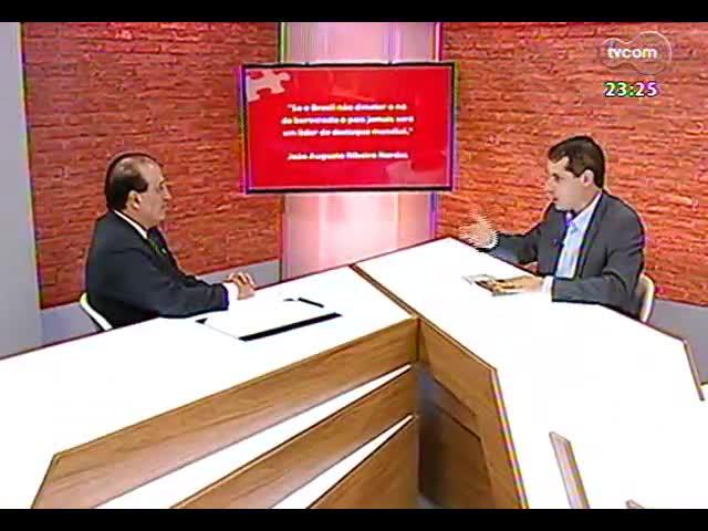 Mãos e Mentes - Presidente do Tribunal de Contas da União, João Augusto Ribeiro Nardes - Bloco 3 - 10/11/2013