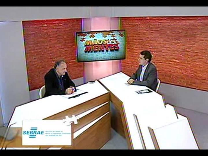 Mãos e Mentes - Fundador da empresa Elevato, Irio Piva - Bloco 1 - 11/11/2013