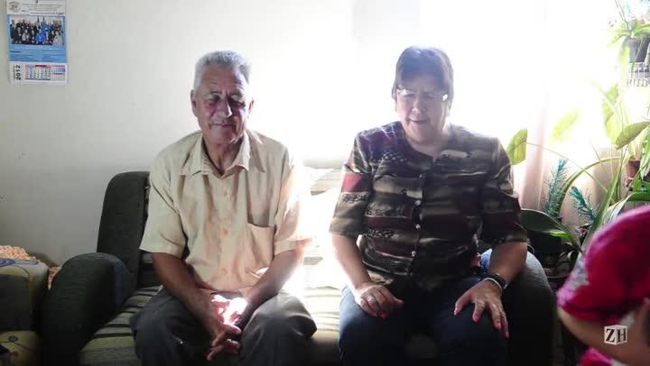 Sérgio e Jussara: o casal de namorados da turma