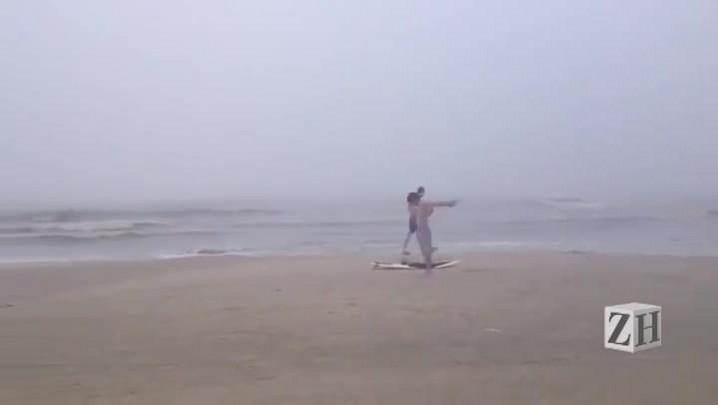 Boletim do tempo: dia amanhece nublado no litoral norte