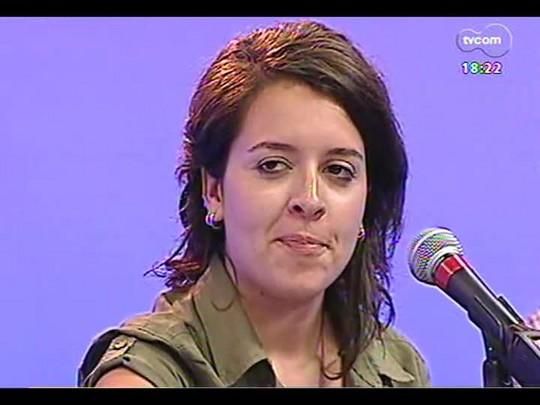 Programa do Roger - Música da cantora Bibiana Petek - Bloco 4 - 21/01/2014