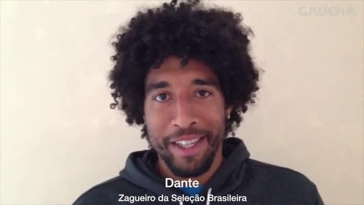 Dante fala sobre a sua convocação - 7/5/2014