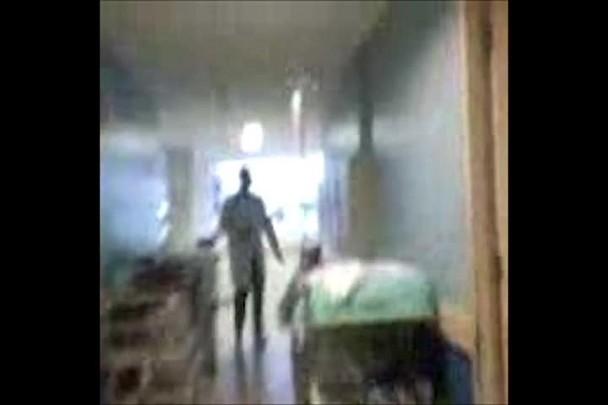 Corredores do Hospital São José, de Joinville em 23/5