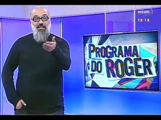 Programa do Roger - Show musical, Palavra Cantada - Bloco 3 - 30/05/2014