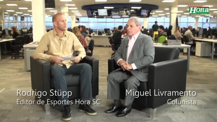 """Miguel Livramento: \""""Não dá pra comparar o azar do Massa e do Barichello com o futebol\"""""""