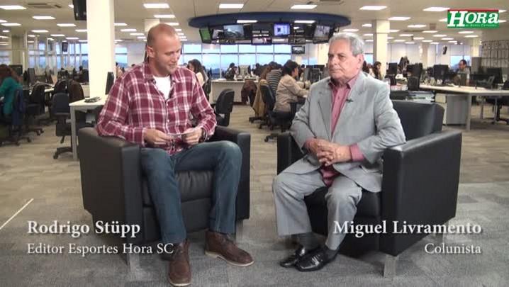 Miguel Livramento comenta sobre os cronistas esportivos que ficam em cima do Muro