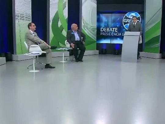 TVCOM - Debate com candidatos à presidência do Grêmio - Bloco 1 - 17/10/2014