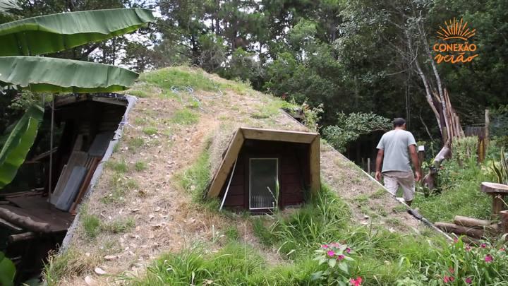 Casa sustentável reaproveita água da chuva