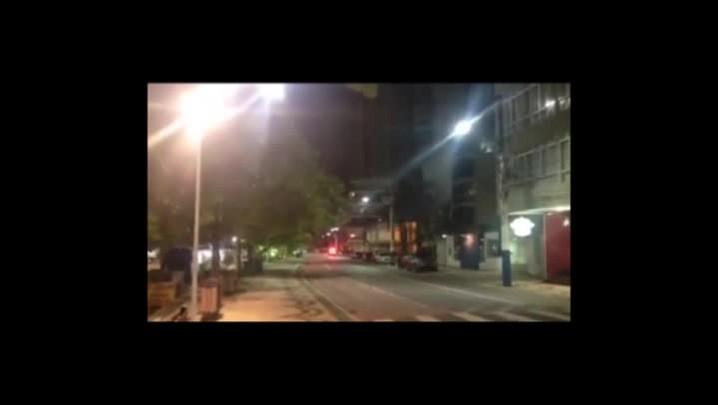 Perseguição da Polícia Militar a suspeitos de furto na contramão da Avenida Atlântica