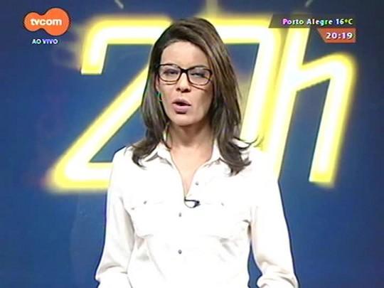 TVCOM 20 Horas - Taxista suspeito de estuprar adolescente é preso na capital - 29/05/2015