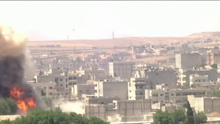 Jihadistas voltam a Kobane