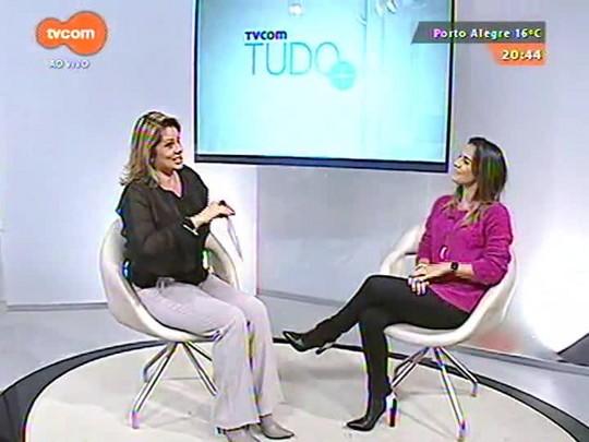 TVCOM Tudo Mais - Fernanda Pandolfi conta como será a websérie \'Entra na Sala\'