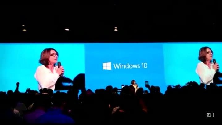 Pronunciamento da nova CEO da Microsoft no Brasil