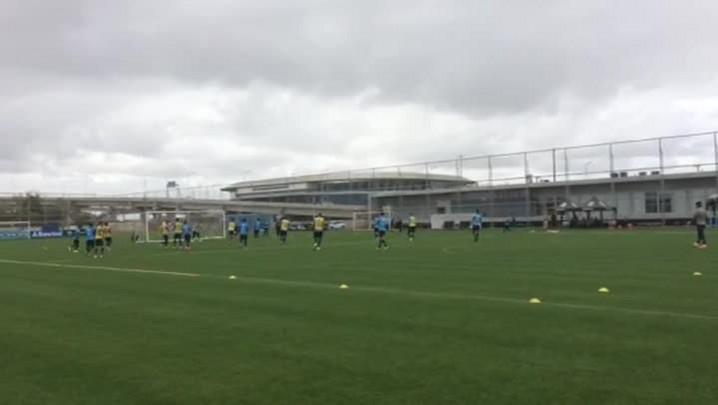 Grêmio faz treino de movimentação no CT Luiz Carvalho