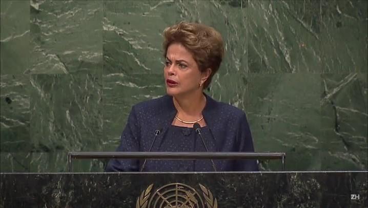 Dilma promete redução de 37% das emissões de gases até 2025