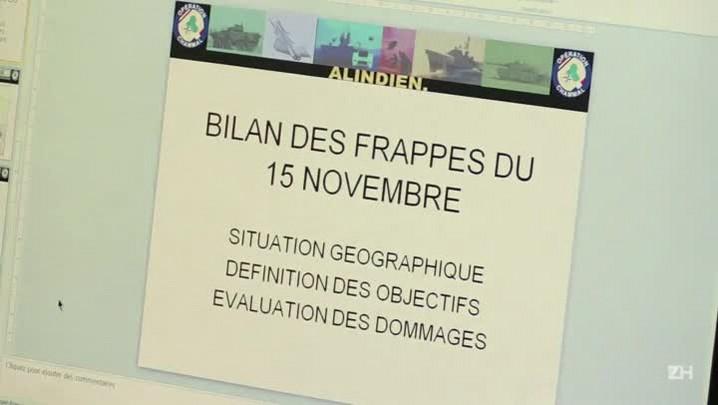 França intensifica bombardeios contra alvos do EI