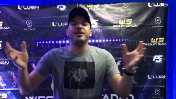 Wesley Safadão convida santa-marienses para show