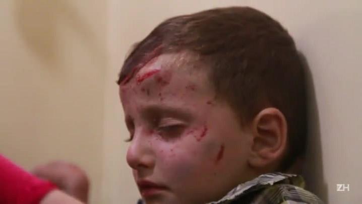 Bombardeio pesado em áreas rebeldes na Síria