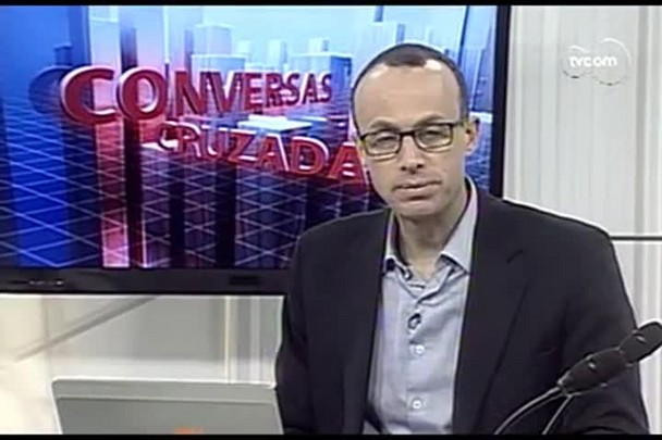 TVCOM Conversas Cruzadas. 2º Bloco. 07.10.16