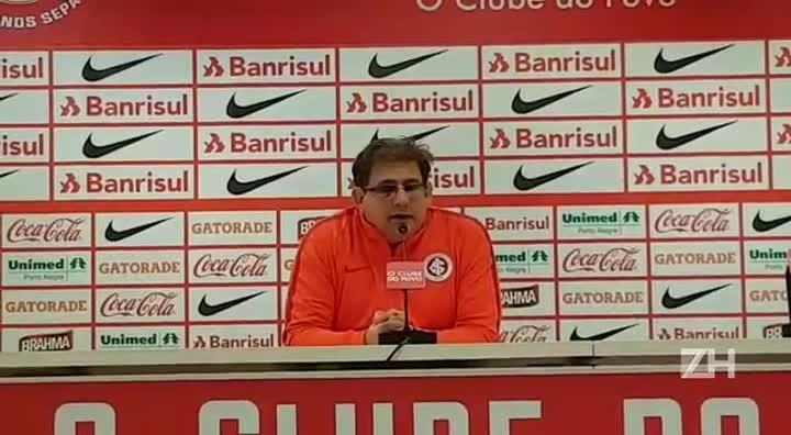 Guto confirma que fará alterações no Inter para enfrentar o Figueirense